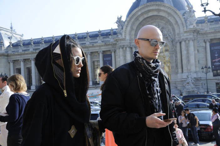 Street Style Paris Fashion Week Chanel Jean Paul Gaultier