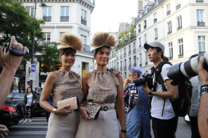 Street Style Paris Fashion Week Chanel Jean Paul Gaultier