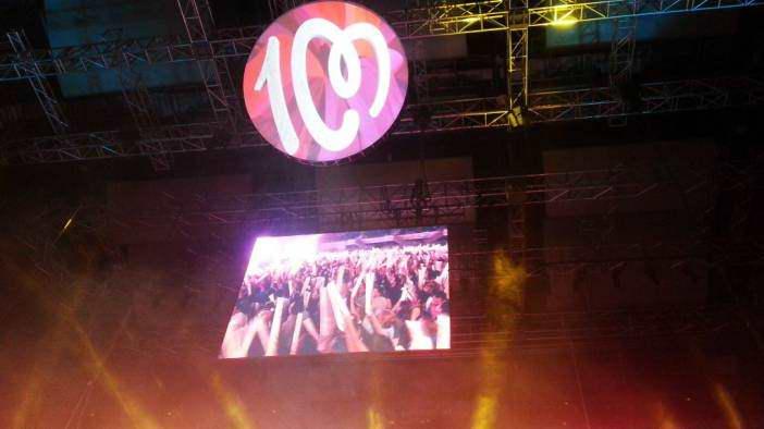 Concierto de Cadena 100 by WOMANWORD. Madrid.