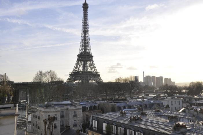 Torre Eiffel desde el Palais de Tokyo © Rocío Pastor Eugenio. ® WOMANWORD