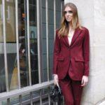 Street Style at Dior's main door
