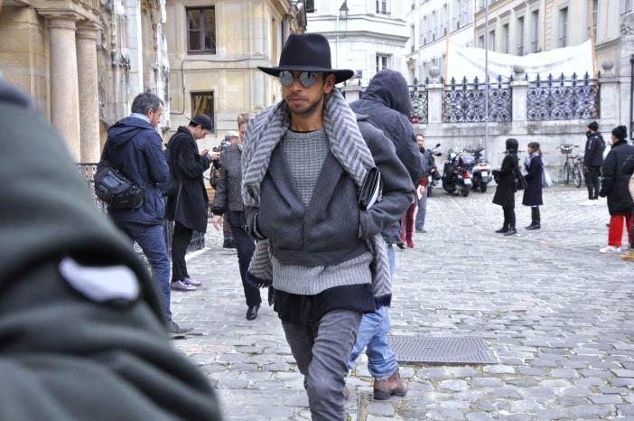 Street Style Lanvin Paris Fashion Week WOMANWORD