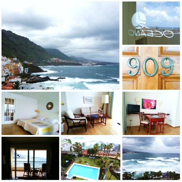 Collage del Hotel Océano Health Spa by Rocío Pastor Eugenio. All Pictures by WOMANWORD