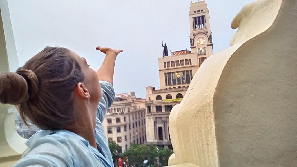 Un selfie en Madrid by WOMANWORD