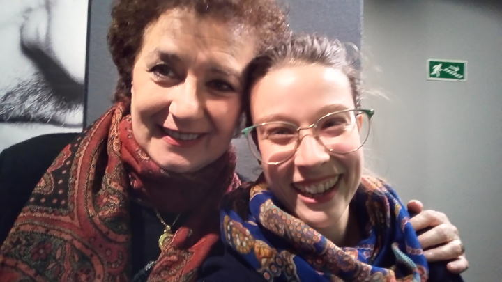 WOMANWORD con Beatriz Carvajal en el estreno de Diablillos Rojos en el Teatro Amaya
