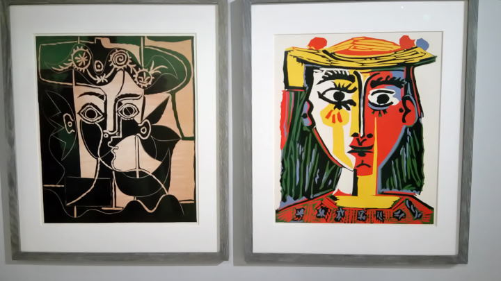 Picasso y WOMANWORD