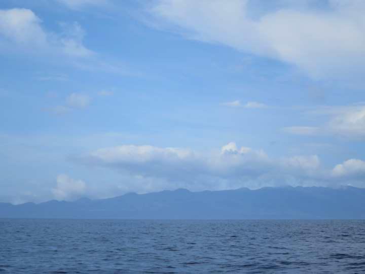 Isla de Pico vista desde San Jorge. WOMANWORD in SAO JORGE