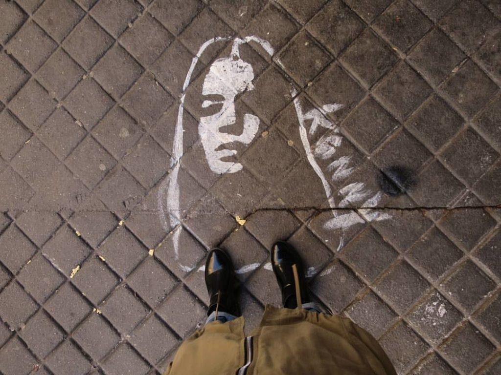 Street Art by WOMANWORD in Paris