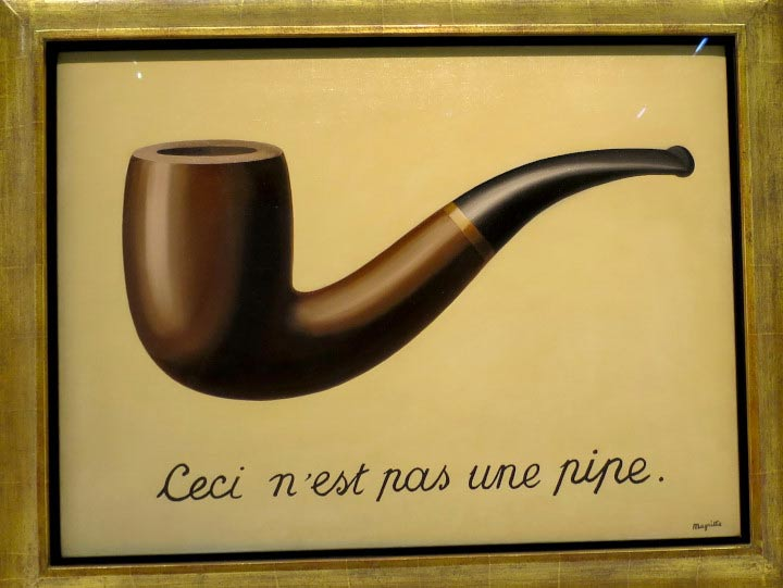 Magritte by WOMANWORD. Pompidou. Paris